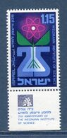 Israël - YT N° 393 - Neuf Sans Charnière - 1969 - Unused Stamps (with Tabs)