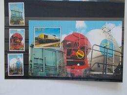 BELGIQUE -  Année 2000 Les 3 Timbres + Le Blocs Feuillets N° TRV 14/15 + TRV BL2  Neuf XX - Spoorwegen