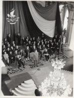 Photo Allocution Du Général De Gaulle à L Hotel De Ville De Paris 18 Juin 1959...format 18/24 - Berühmtheiten
