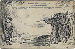 78  Magny   Guerre Europeenne 1914 Le Courage Allemand  Un Enfant De 7 Ans A Ete Fusille Sur Place - Magny-les-Hameaux