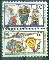 ALLEMAGNE FEDERALE - N° 1249 Et 1250 Oblitéré - Europa. Jeux D'enfants. - 1989