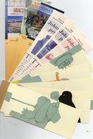 Lot De  12  Marque-pages 5 ETRE +3 JOHNNY PERPETE + 4MORRONE   Tous Differents - Segnalibri