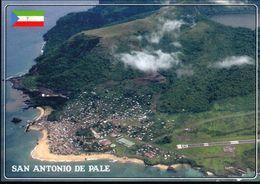 1 AK Äquatorial-Guinea * Ansicht Der Insel Annobon - Blick Auf San Antonio De Palé Und Den Airport Annobon * - Guinea Equatoriale