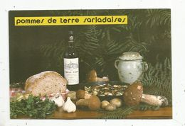 Cp , Recette Du Périgord, POMMES DE TERRE SALARDAISES ,vierge - Recetas De Cocina