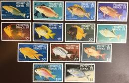 Pitcairn Islands 1984 Fish Set MNH - Poissons
