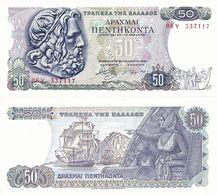 GREECE      50 Drachmai       P-199       8.12.1978       UNC - Grèce