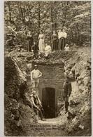 RECLERE: L'entrée Des Grottes De Réclère Prés De Porrentruy. Animée SUPER BELLE CARTE RARE !!! 1910 (1) - JU Jura