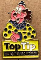 TOP TIP - CLOWN JAUNE A POIS NOIRS - MITNEHMEN UND WOHNEN  -  (26) - Merken