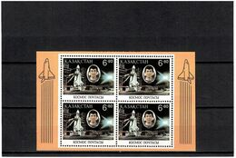 Kazakhstan 1994 .Space (Aubakirov). S/S (Block Of 4 X 6.80).   Michel # BL 1 - Kazajstán