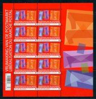 BE   ---   F4089  XX    --- Libéralisation Du Marché Postal  --  Excellent état - Panes