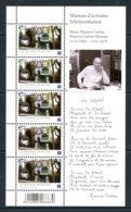 BE   ---   F4092 XX    --- Maisons D'écrivains / M. Carème  --  Excellent état - Panes