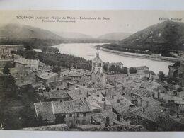 Carte Postale De Tournon, Panorama Embouchure Du Doubs, Vallée Du Rhône - Tournon