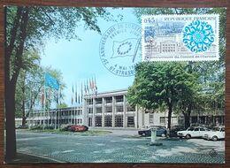 CM 1974 - YT N°1792 - CONSEIL DE L'EUROPE - STRASBOURG - 1970-79