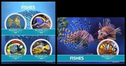 Maldives. 2020 Fishes. (0106ab)  OFFICIAL ISSUE - Poissons