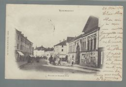 CPA - 88 - Remiremont - Halle Et Grande Rue - Remiremont