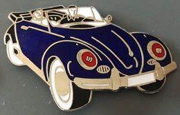 VOITURE - VW BLEU -  CABRIO - BLUE CAR -  EGF - WAGEN - CARRO - AUTO - AUTOMOBILE - COCCINELLE -     (26) - Volkswagen