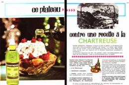 """PUB    """"  CHARTREUSE  """"   1964 ( 9a ) - Alcohols"""