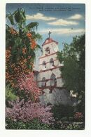 United  States, CA.,San Diego,Mission San Diego De Alcala, Bell Tower, 1953. - San Diego