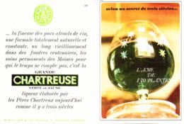 """PUB    """"  CHARTREUSE  """"   1963  ( 11 ) - Alcohols"""