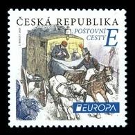 Czech Republic 2020 Mih. 1068 Europa. Ancient Postal Routes MNH ** - Tchéquie