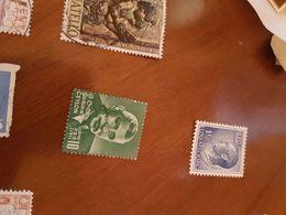 CEYLON UOMINI ILLUSTRI VERDE 1 VALORE - Briefmarken