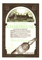 """PUB    """"  CHARTREUSE  """"   1957  ( 14 ) - Alcohols"""