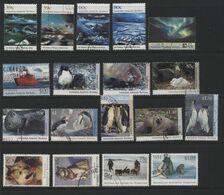 Australian Antarctic Territory(04) 1989-94.19 Different Stamps, Mint & Used. All Hinged. - Australian Antarctic Territory (AAT)