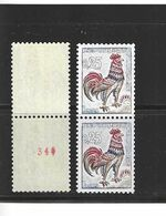 Roulettes N° 1331 B  N° Rouge Valeur 80 € - Coil Stamps