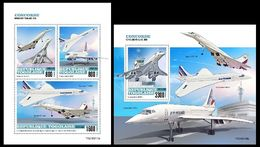 Togo 2020 Concorde. (0210ab) OFFICIAL ISSUE - Concorde