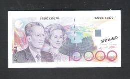 BANKBILJET 10000 F - SPEELGELD  - 9 Cm X 4,5 Cm  (BB 37) - [ 8] Fictifs & Specimens