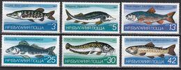 Tr_ Bulgarien 1983 - Mi.Nr. 3158 - 3163 - Postfrisch MNH - Tiere Animals Fische Fishes - Poissons