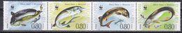 Tr_ Bulgarien 2004 - Mi.Nr. 4678 - 4681 - Postfrisch MNH - Tiere Animals Fische Fishes - Poissons