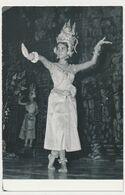 La Princesse Norodom Bopha Devi Danseuse-Etoile Crops Ballet Royal CAMBODGE CAMBODIA Royal Dance Ballet Vintage Postcard - Kambodscha