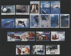 Australian Antarctic Territory(05) 1992-9.18 Different Stamps, Mint & Used. All Hinged. - Australian Antarctic Territory (AAT)