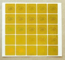 2008 Fauna Turkmenistan Self Adhesive Stamps Pelikan Yellow 25 Stamps List - Turkmenistan