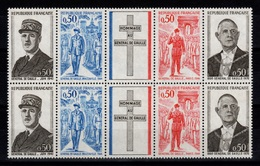 YV 1698A N** Double Bande General De Gaulle Cote 7 Euros - Nuevos