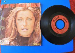DISQUE Vinyle 45 T- SP- SHEILA: NE FAIS PAS TANGUER LE BATEAU-/-SAMEDI SOIR-Musique -Musique Française-Collector - Other - French Music