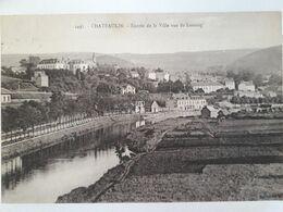 Carte Postale De Châteaulin, Entrée De La Ville Vue De L'ostang, 1924 - Châteaulin