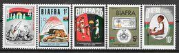 Biafra N° 4/8 Yvert NEUF * - Nigeria (1961-...)