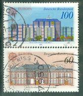 ALLEMAGNE FEDERALE - N° 1293 Et 1294 Oblitéré - Europa. Bâtiments Postaux D'hier Et D'aujourd'hui. - Europa-CEPT