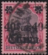 Deutsch China  .   Michel    .   43  (2 Scans)    .      O   .     Gebraucht   .  /  .   Cancelled - Offices: China