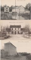 3 CPA:MAREUIL SUR OURCQ (60) NOUVEAU MOULIN,ATTELAGE GARE,LE MOULIN - Other Municipalities