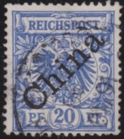 Deutsch China  .   Michel    .    4-I       .  O   .     Gebraucht   .  /  .   Cancelled - Offices: China