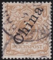 Deutsch China  .   Michel    .    1-I   (3 Scans)  Stempel Falsch?    .  O   .     Gebraucht   .  /  .   Cancelled - Offices: China