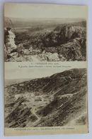 CPA WW1 Guerre 14-18 Avec 2 Vues De Vauquois Poste Allemand - Guerre 1914-18