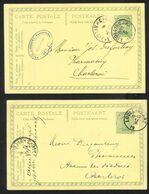 Belgique - Obl.fortune 1919 - Obl. LODELINSART Sans L'année  + Cachet BELGIQUE*3*BELGIE - Fortuna (1919)