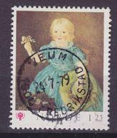 Norway 1979 Mi. 793     1.25 (Kr) Mädchen-portät Gemälde Von Mathias Stoltenberg Deluxe FREDERIKSSTAD Cancel !! - Norwegen