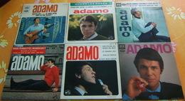 ADAMO - LOT De SIX 45 Tours - Other - French Music