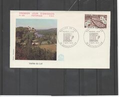 FRANCE - Vallée Du Lot : Aveyron, Cantal, Lot, Lot-et-Garonne, Lozère - Rivière - Massif Central - Tourisme - Vacances - FDC