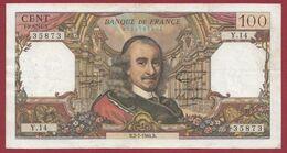 """100 Francs """"Corneille"""" Du 02/07/1964.B ---TTB--ALPH .Y.14 - 100 F 1964-1979 ''Corneille''"""